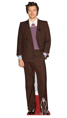 Harry Styles Mauve Jacket Lifesize Cardboard Cutout 183cm Product Image