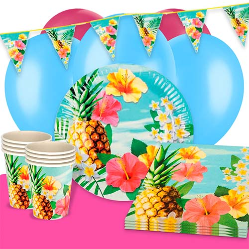 Hawaii Paradise 12 Person Deluxe Party Pack