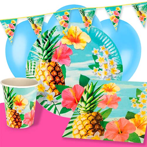 Hawaii Paradise 6 Person Deluxe Party Pack