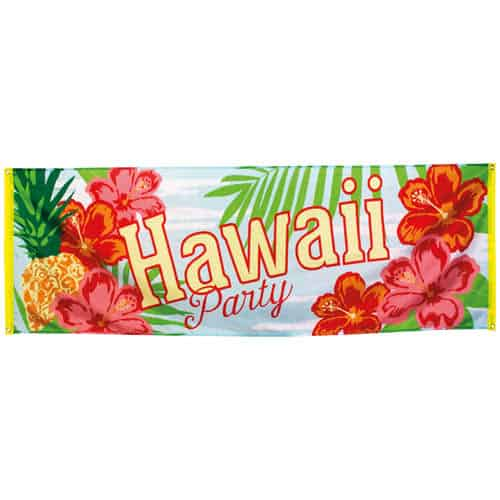 Hawaii Party Polyester Banner 220cm Product Image