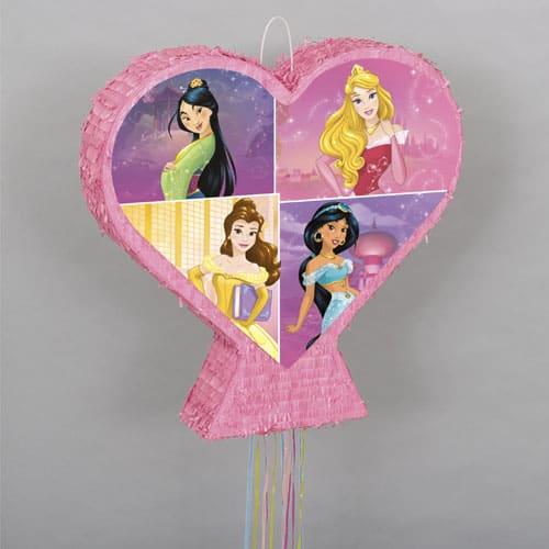 Heart Shape Princess Pull String Pinata Product Image