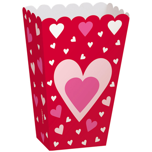 Hearts Treat Boxes - Pack of 6 Product Image