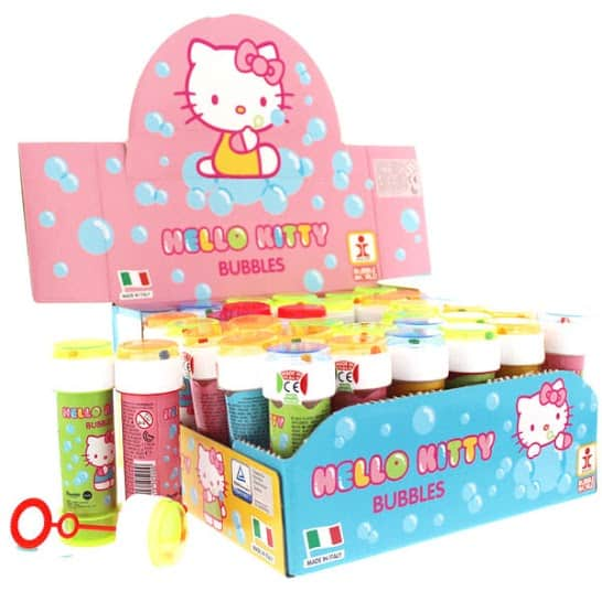 Hello Kitty Bottle Bubbles - 60ml - Pack of 36 Product Image