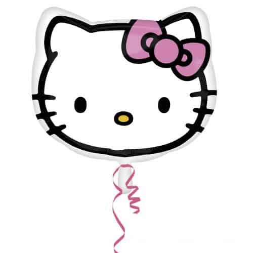 Hello Kitty Head Shape Foil Helium Balloon 38cm / 15Inch