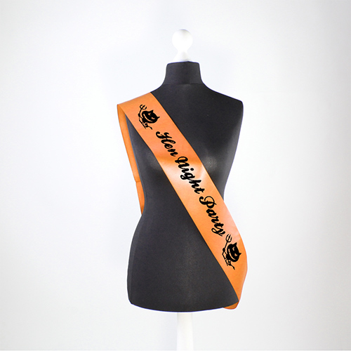 Hen Night Party Pre-Printed Sash Product Image