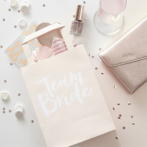 Hen Party Team Bride Paper Bags - Pack of 5 Product Image