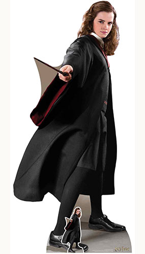 Hermione Granger Harry Potter Character Lifesize Cardboard Cutout 170cm Product Image