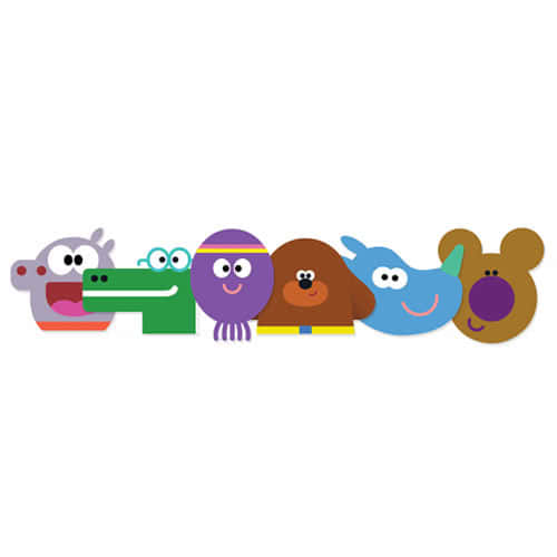 Hey Duggee And Squirrels Cardboard Face Masks - Pack of 6 Product Image