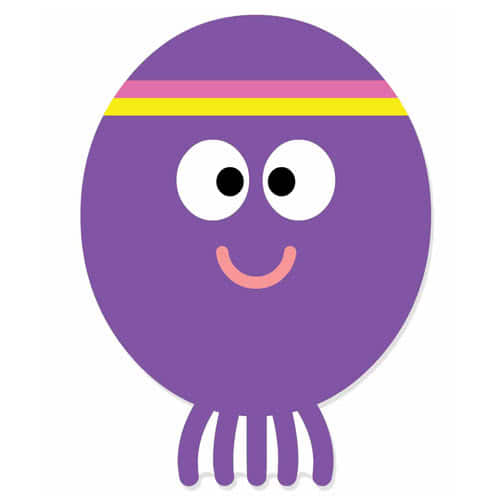 Hey Duggee Betty Cardboard Face Mask Product Image