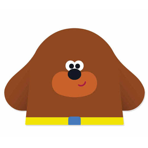 Hey Duggee Cardboard Face Mask Product Image