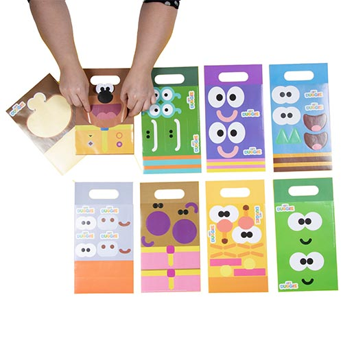 Hey Duggee Customisable Paper Party Bags - Pack of 8