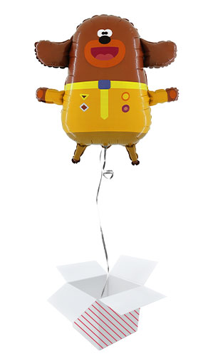 Hey Duggee Helium Foil Giant Balloon - Inflated Balloon in a Box Product Image