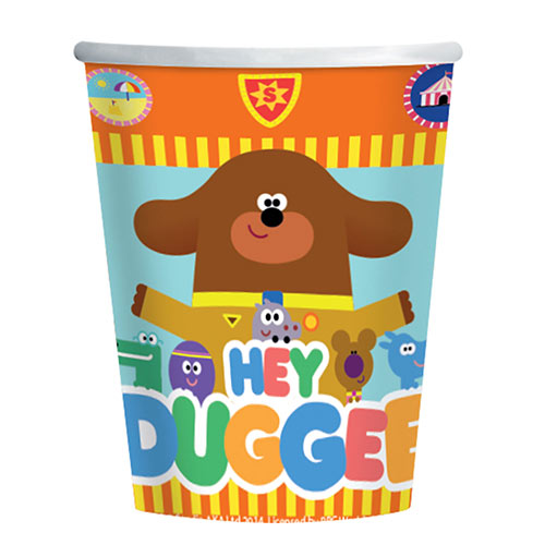 Hey Duggee Paper Cups 250ml - Pack of 8
