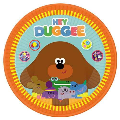Hey Duggee Round Paper Plates 23cm - Pack of 8 Bundle Product Image