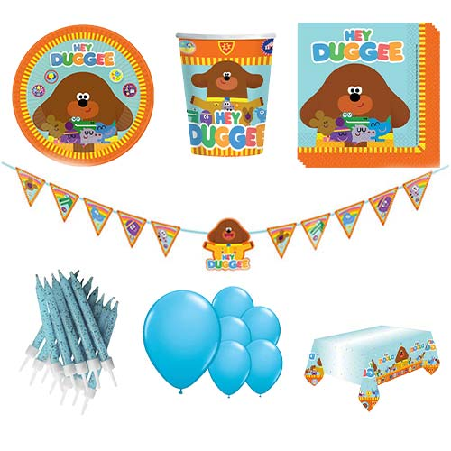 Hey Duggee 8 Person Deluxe Party Pack Product Image