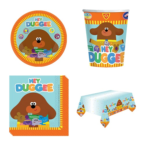 Hey Duggee 8 Person Value Party Pack Product Image
