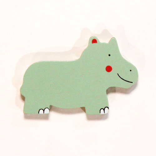Hippo Wooden Magnetic Toy Product Image
