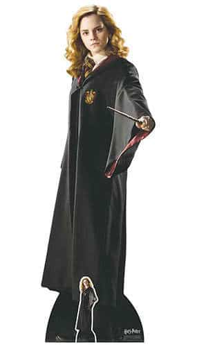 Harry Potter Hogwarts School of Witchcraft and Wizardry Hermione Granger Lifesize Cardboard Cutout 163cm