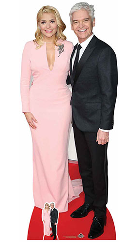 Holly Willoughby And Phillip Schofield Lifesize Cardboard Cutout 183cm Product Image