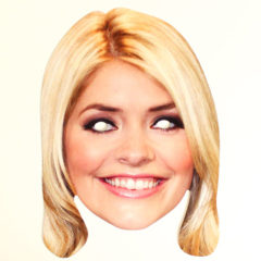Holly Willoughby Cardboard Face Mask Product Image
