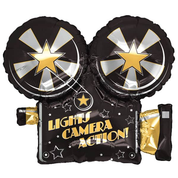 Hollywood Camera Helium Foil Giant Balloon 81cm / 32 in