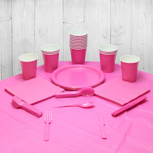 Hot Pink 14 Person Party Pack Product Image