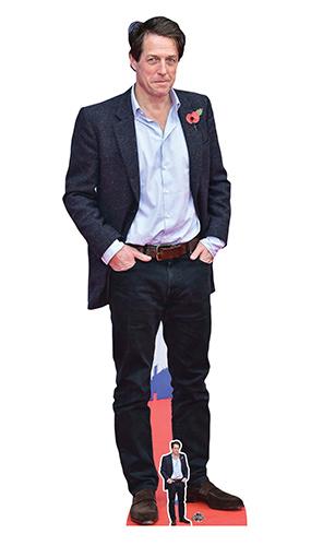 Hugh Grant Blue Shirt Lifesize Cardboard Cutout 180cm