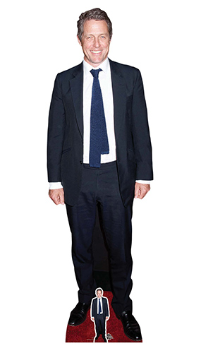Hugh Grant Tie Lifesize Cardboard Cutout 181cm