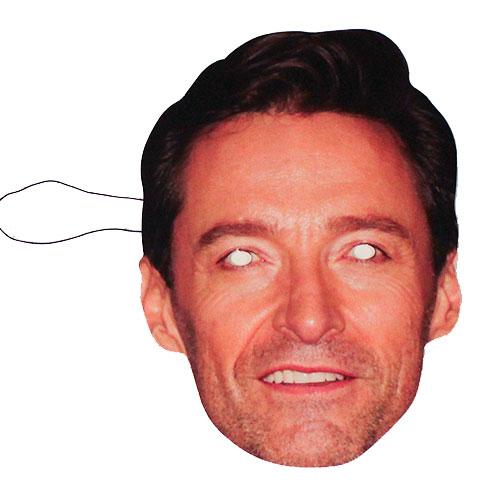 Hugh Jackman Cardboard Face Mask Product Image