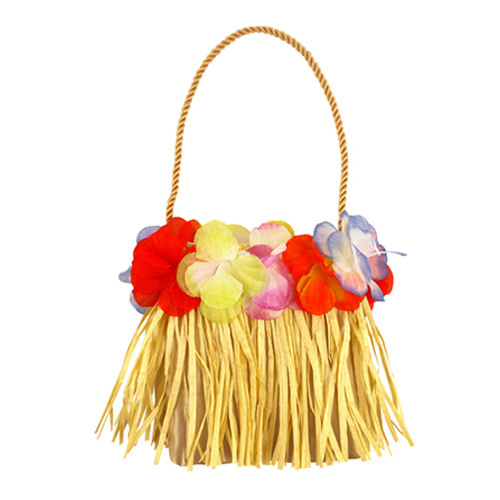 Hula Bag with Flowers 15cm Product Image