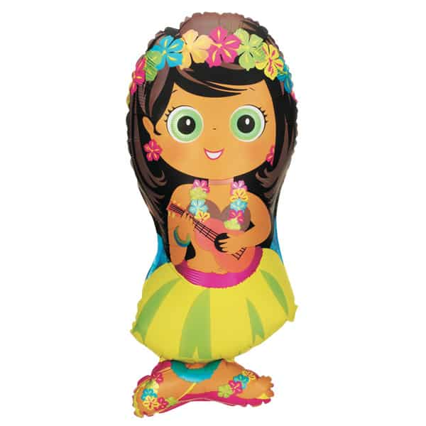 Hula Girl Helium Foil Giant Balloon 86cm / 34 in Product Image