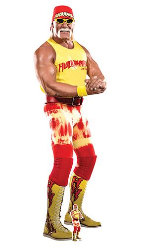 Hulk Hogan WWE Lifesize Cardboard Cutout 195cm Product Image