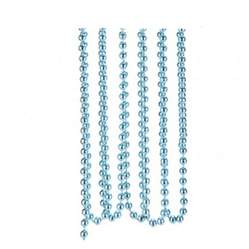 Ice Blue Bead Chain Christmas Decoration 2.7m Product Image