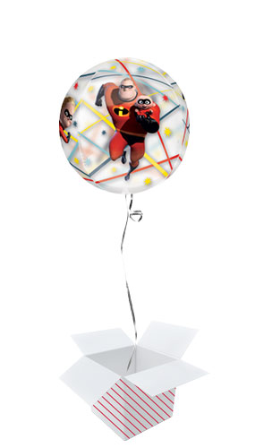 Incredibles 2 Orbz Foil Helium Balloon - Inflated Balloon in a Box Product Image