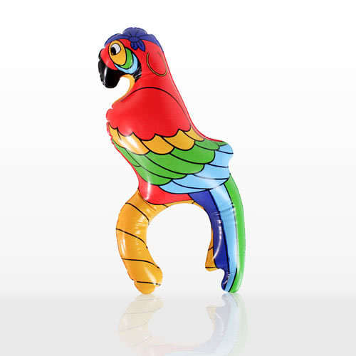 Inflatable Arm Parrot - 11 Inches / 28cm Product Image