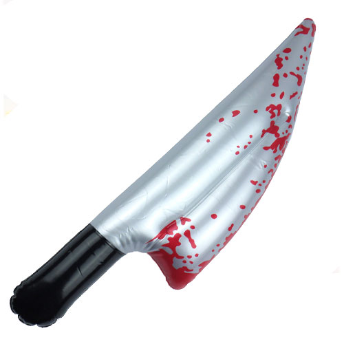 Inflatable Bloody Knife 40cm