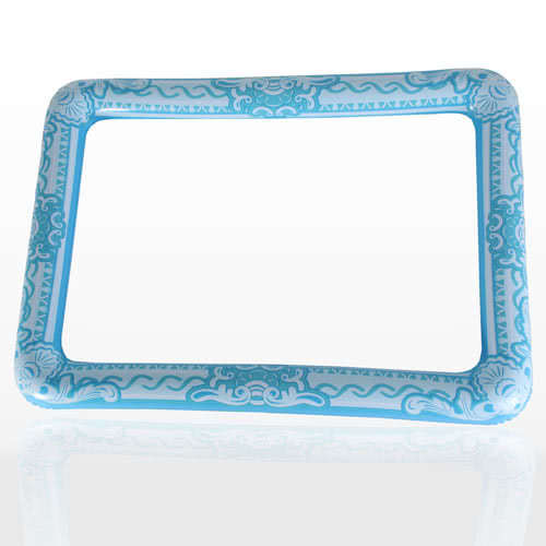 Inflatable Blue Picture Frame 60cm Product Image