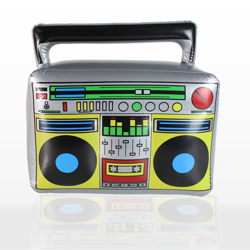Inflatable Boom Box - 17 Inches / 44cm Product Image