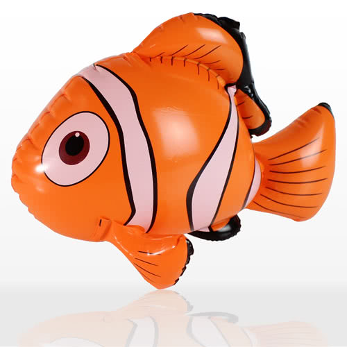 Inflatable Clown Fish - 18 Inches / 45cm Product Image