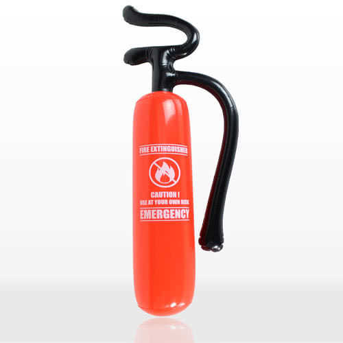 Inflatable Fire Extinguisher 70cm Product Image