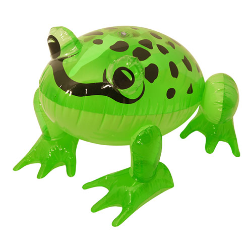 Inflatable Frog 39cm Product Image