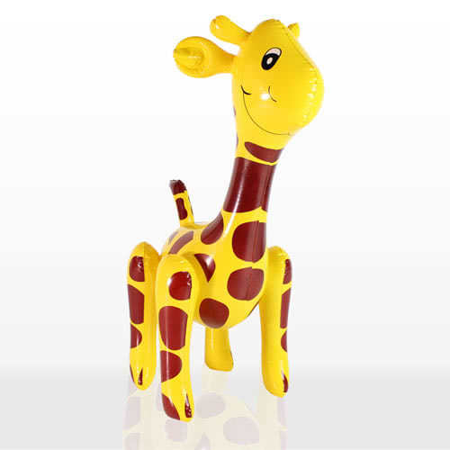 Inflatable Giraffe - 23 Inches / 59cm