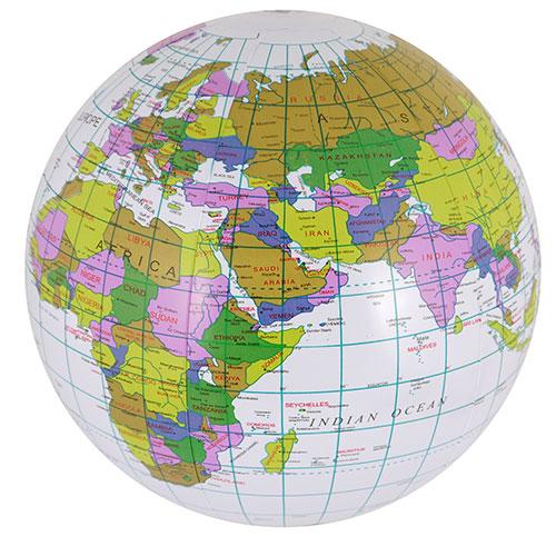 Inflatable Globe 40cm Product Image