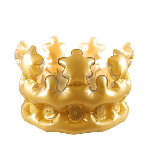 Inflatable Gold Crown 30cm Product Image
