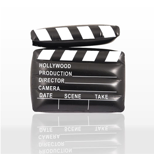 Inflatable Hollywood Clapper Board 43cm Product Image
