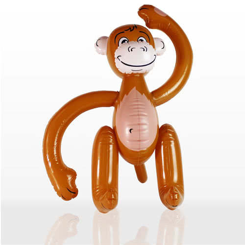 Inflatable Monkey - 23 Inches / 58cm