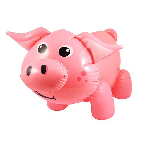 Inflatable Pig 55cm