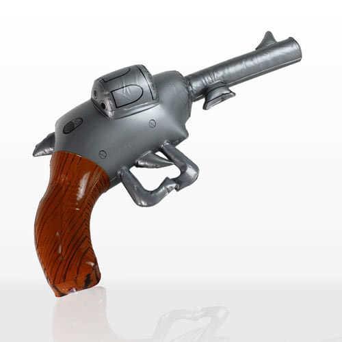 Inflatable Pistol / Revolver