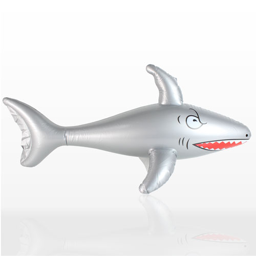 Inflatable Shark - 35 Inches / 89cm