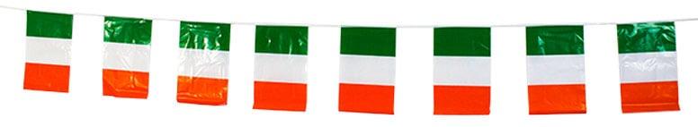 Ireland Plastic Flag Bunting - 366cm Product Image